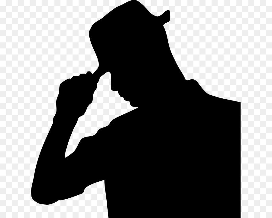 900x720 Silhouette Hat Clip Art