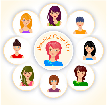 374x368 Hair Free Vector Download (476 Free Vector) For Commercial Use