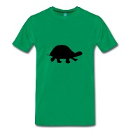 190x190 Turtle Silhouette T Shirt Spreadshirt