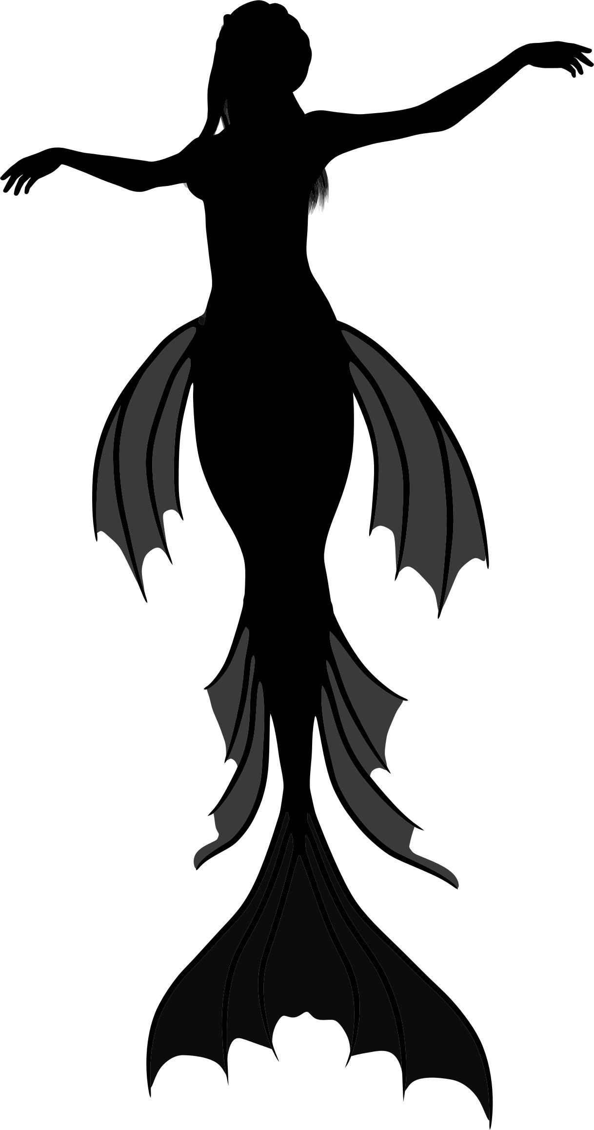 1218x2316 Mermaid Silhouette Icons Png