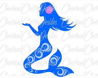 340x270 Mermaid Clipart Mermaid Svg Mermaid Tail Svg Mermaid