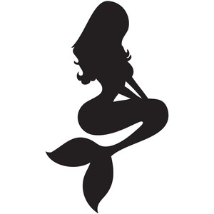 Mermaid Silhouette Images