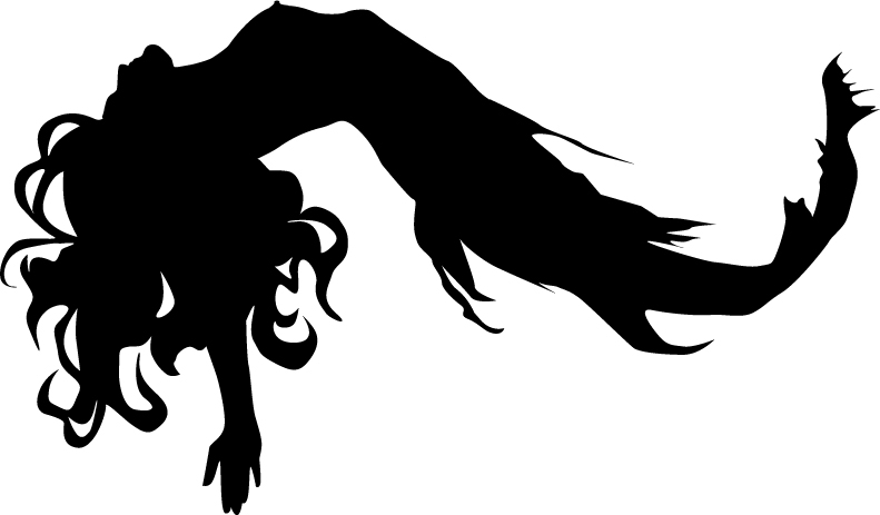mermaid silhouette images at getdrawings com free for personal use