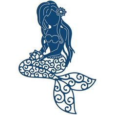 236x236 Mermaid Silhouette Free Vector In Encapsulated Postscript Eps