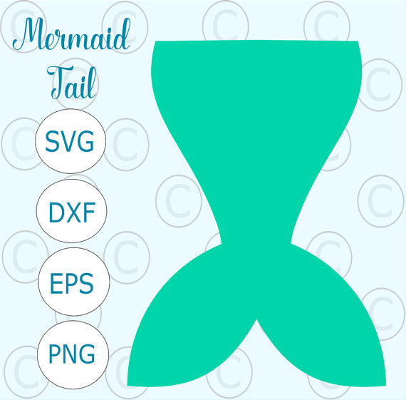 570x561 Mermaid Tail Svg Cut File Simple Mermaid Tail Silhouette Cut