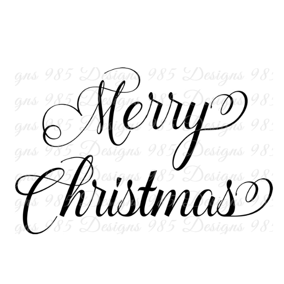 570x570 Merry Christmas Saying Svg For Cricut By 985 Graphic Designs On Zibbet