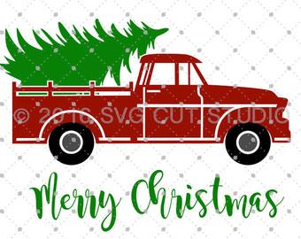 340x270 Truck Clipart Merry Christmas
