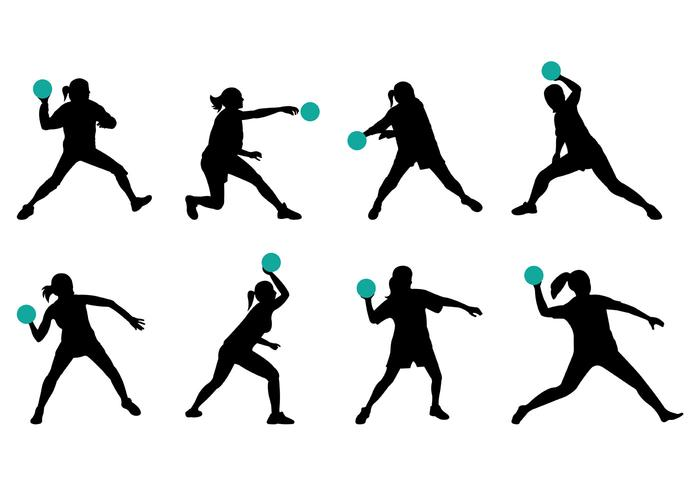 700x490 Silhouette Of Dodgeball Player