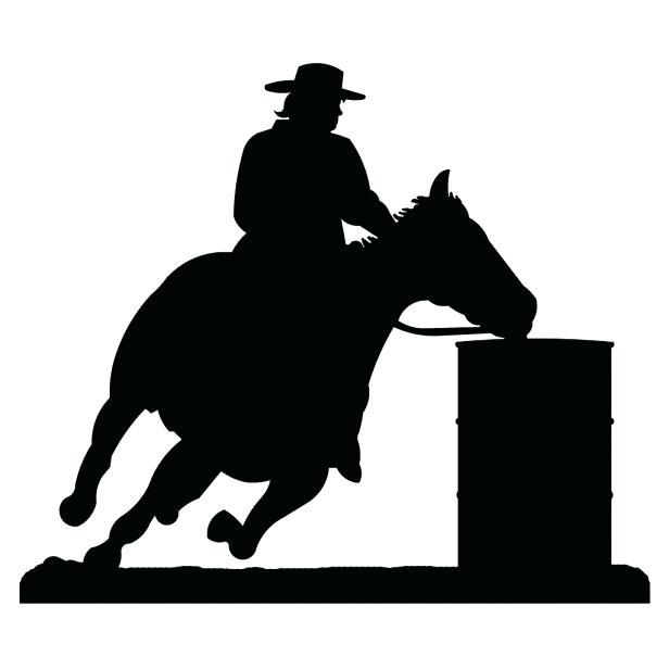616x616 Western Metal Wall Art Cowgirl Horse Western Metal Wall Art