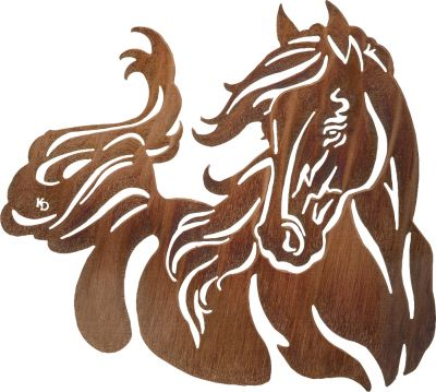 400x359 Animals Stenciling, Horse