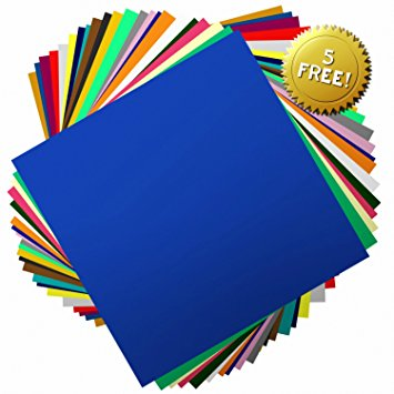 355x355 The Art Vark 12x12 Inch Permanent Self Adhesive Vinyl Sheets. 40