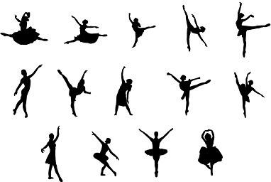 382x256 Ballet Dancer Eps Free Vector Download (179,317 Free Vector)