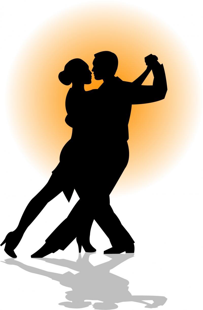 800x1221 Dance Couple Clipart