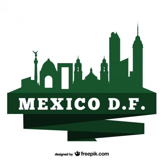 626x626 Mexico Df Logo Vector Free Download