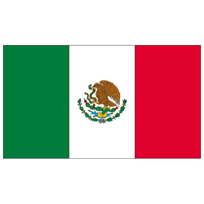660x660 Mexico Flag Vector
