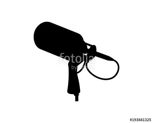 500x400 Loudspeaker Or Mic Shooting For Making Film Symbol Icon Logo