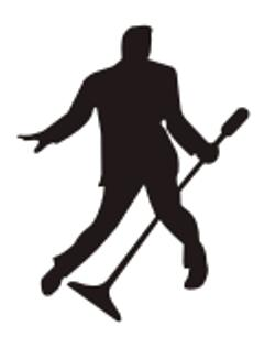 251x306 50s Elvis Silhouette With Mic Stand 2 Poems And More