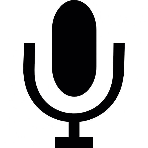 626x626 Microphone Sound Tool Silhouette Icons Free Download