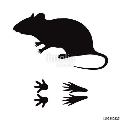 Mice Silhouette