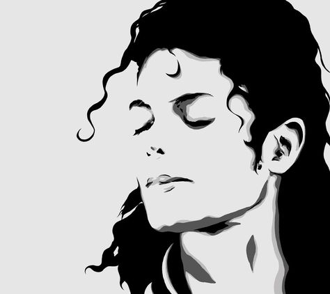 Michael Jackson Face Silhouette at GetDrawings.com | Free for ...