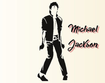 340x270 Michael Jackson Silhouettes Pack Silhouette Svg Cut Files Instant