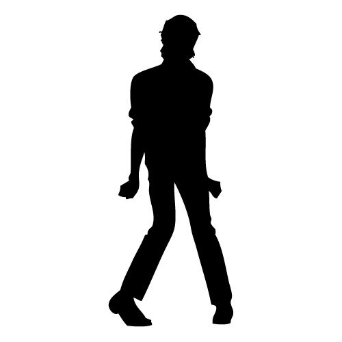 500x500 Michael Jackson Silhouette Chalk The Streets