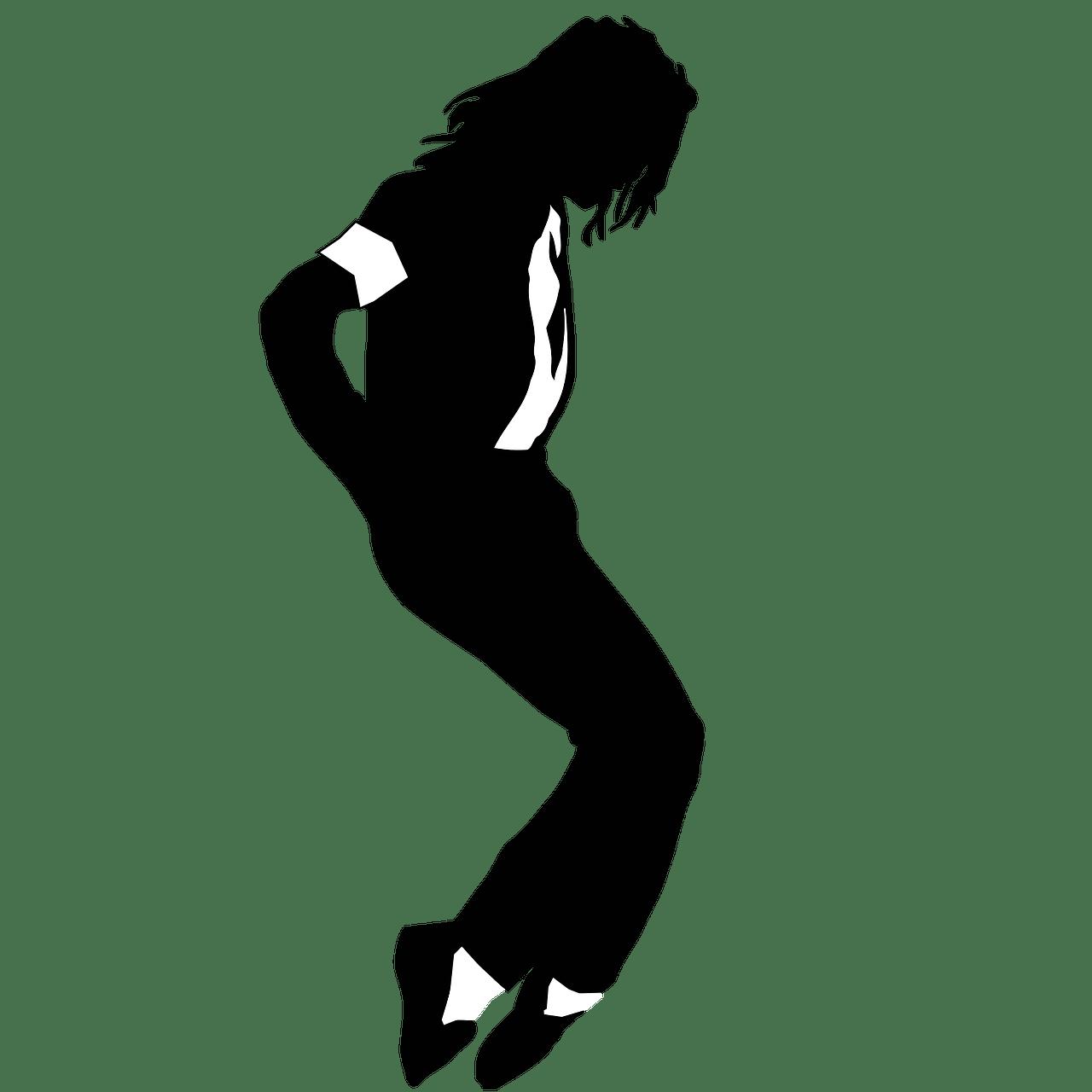 1280x1280 Michael Jackson Silhouette Transparent Png