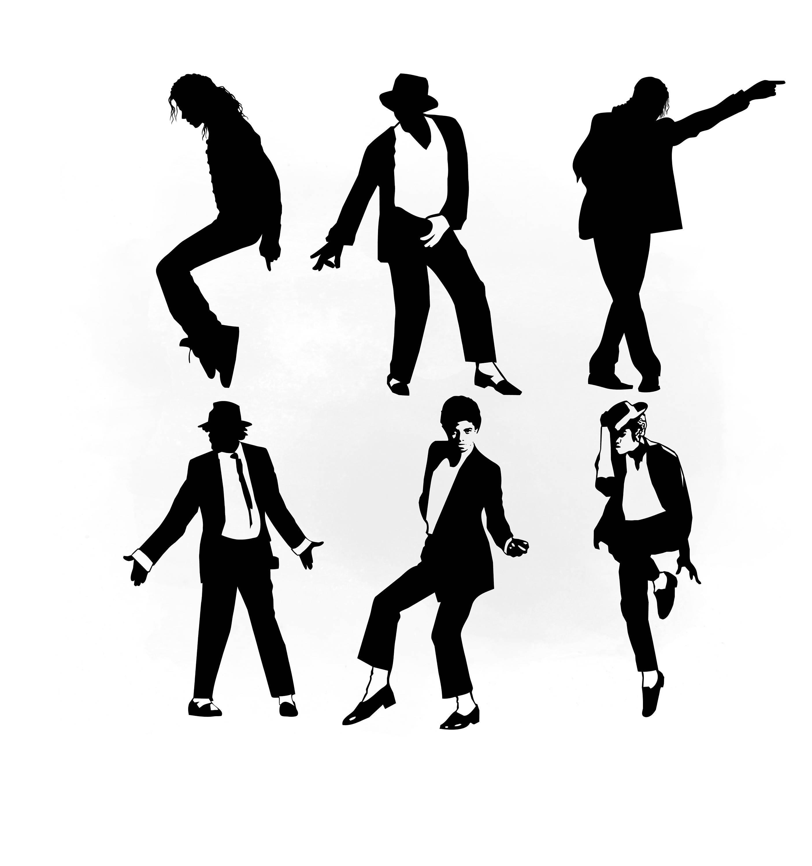 2810x3000 Michael Jackson Svg Clipart, Michael Jackson Vector, Svg Files