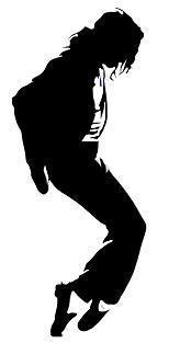 154x313 Michael jackson silhouette Michael Jackson Silhouette Wall
