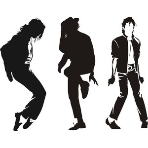 300x300 Michael Jackson Silhouette