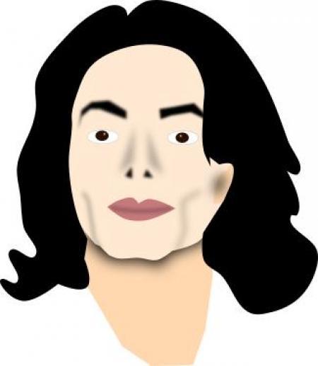 450x517 Michael Jackson Billie Jean Silhouette Clipart