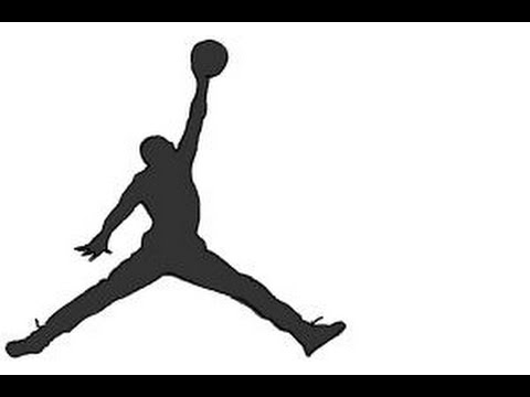480x360 How To Draw Jordan Jumpman Logo