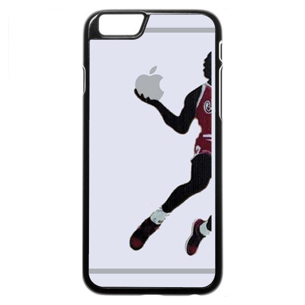600x600 Michael Jordan (Apple Silhouette) Iphone 6 6s Case