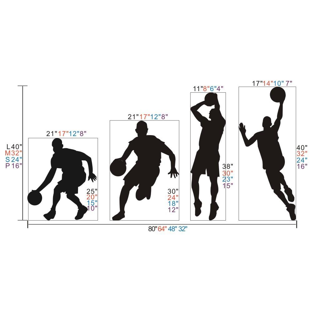 1000x1000 Basketball Player Dribble Dunk Sequence Michael Jordan Sticker