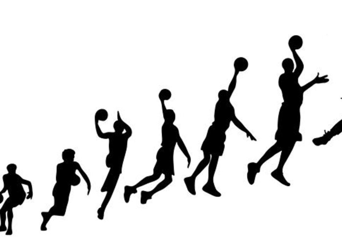 700x500 Evolution Human To Michael Jordan Greeting Card For Sale By Jarvis
