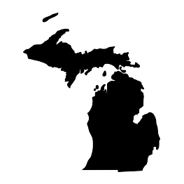 263x262 Michigan Silhouette And Tons Of Other Categories. Www