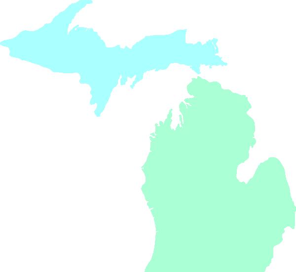 600x550 Michigan Clipart Michigan Mitten