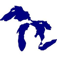 michigan silhouette vector at getdrawings com free for personal