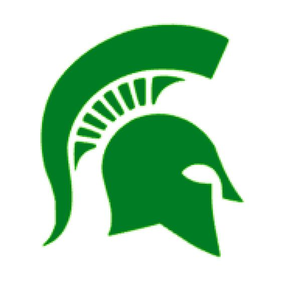 570x607 Svg Studio Michigan State Spartans Scalable Vector Instant