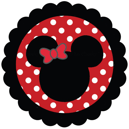 549x549 Mickey Mouse Silhouette Clipart