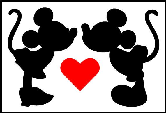570x389 Child Size Mickey Inspired Mickey Mouse Hands Holding Heart Iron