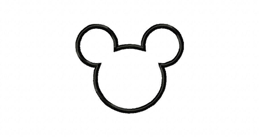 910x480 Disney Mickey Head Clip Art