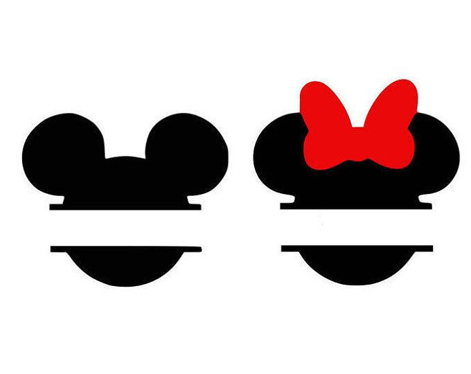mickey and minnie silhouette clip art at getdrawings com free for rh getdrawings com minnie mouse ears clip art free minnie mouse ears silhouette clip art