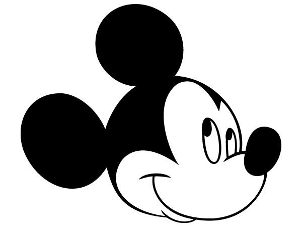 600x450 Mickey mouse head silhouette (1)