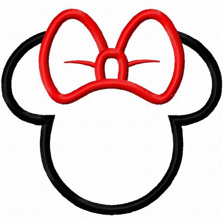 736x736 Minnie Mouse Head Clipart –