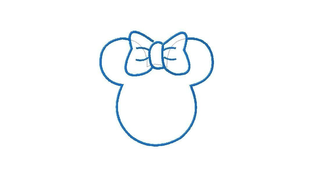 1077x610 Blue Mickey Mouse Ears Clipart