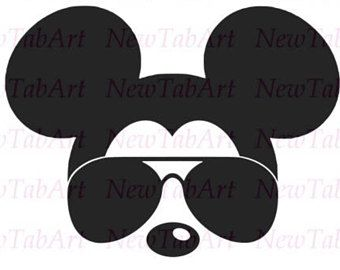 340x270 Mickey Mouse Svg Sunglasses Disney Mickey Mouse Sunglasses Svg