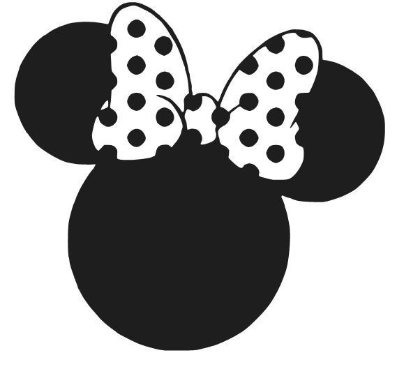 569x529 Mickey And Minnie Mouse Silhouette Free Download Free Minnie Mouse