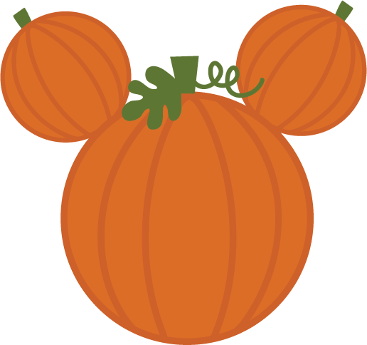 516x484 Mickey Pumpkin Clipart