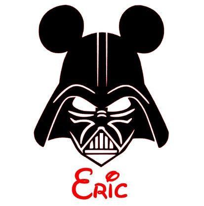 413x418 Darth Vader Clipart Mickey Minnie Mouse Head